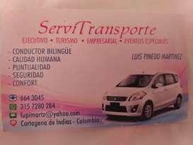 Servicio de camioneta con capacidad para 7 personas dentro y fuera de la ciudad