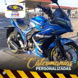 Calcomanías personalizadas para tu moto TUNIG MOTOS