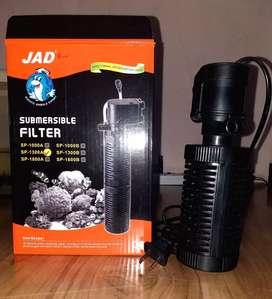 Bomba con Filtro para pecera de 60 Litros