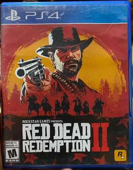 Red Dead Redemption 2 Juegos Ps4