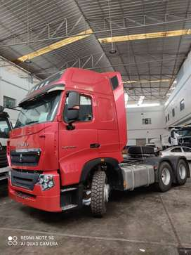 CAMION REMOLCADOR - TRACTO HOWO T7H SINOTRUK 440 HP