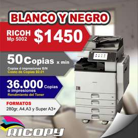 Copiadora Impresora Ricoh Mpc 5502 NEGRO