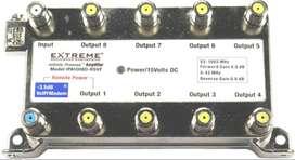 Extreme Broadband IPA1008D-RSVF - Divisor de 8 vías