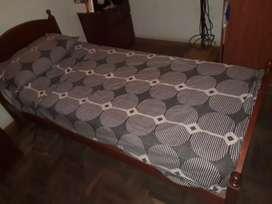 Vendo cama y colchón usados