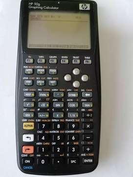 Calculadora HP 50g graficadora Integra deriva en la cava del libro tienda multiservicios multiproductos