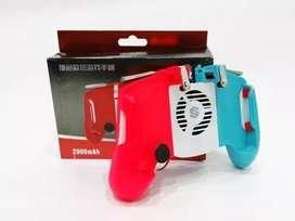 Control Free Fire Game Pad Con Ventilador Gatillos Joystick