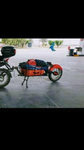 Venfo trailer para moto