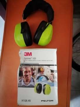 Protectores auditivos nuevos marca 3 M vendo, cambio. Nuevos en caja