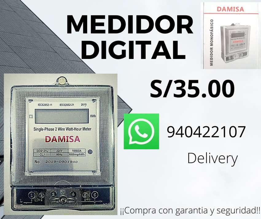 MEDIDOR DIGITAL MONOFASICO 0
