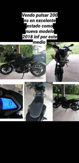 Moto pulsar 200 ns modelo 2018