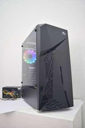 Chasis Gamer RXE 03 1FAN RGB ATX y Micro ATX