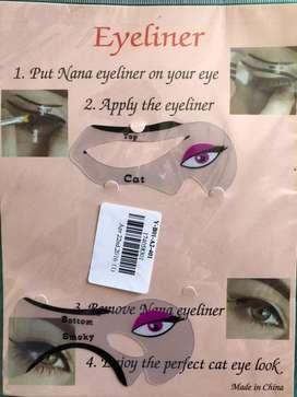 Plantilla para hacer cat eye y smokey eye