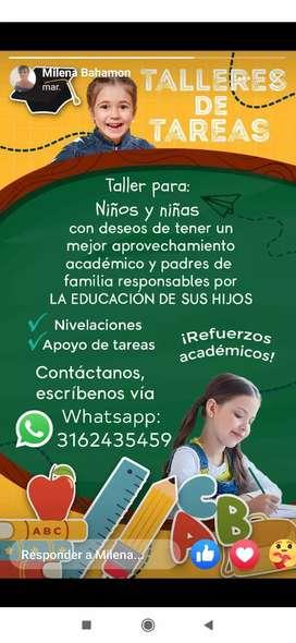 Refuerzo académico para niños