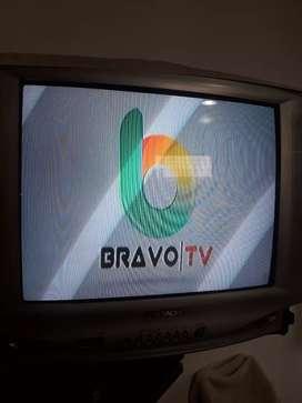 Televisor Hitachi 21Pulgadas C.remoto(No esta en uso Hace como 2años. Practicamente esta sin detalles de rayas etc.)
