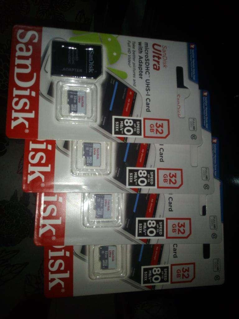 Memora Microsdhc Sandisk Ultra Premium 0