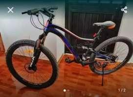 Vendo o cambio con un celular bicicleta GTI