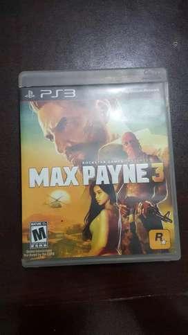 Vendo juego Max Payne 3 Ps3