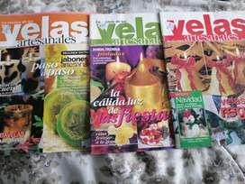 Revistas para hacer velas