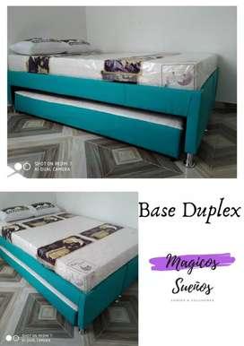 Bases camas duplex