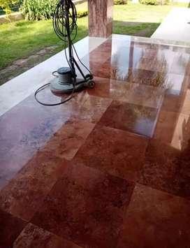 Mantenimiento de pisos de mármol y granito