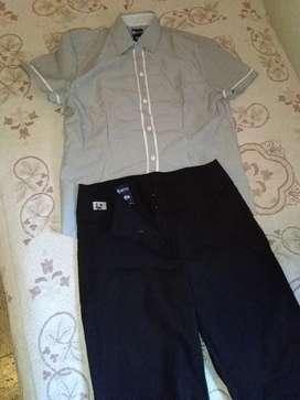 Camisa y Pantalon NUEVO uniforme