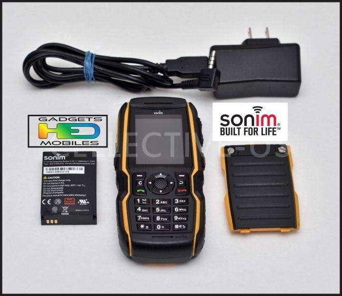 TELEFONO XP3 SONIM BOLT INDESTRUCTIBLE, DESBLOQUEADO GSM HED PRO DIVISION EQUIPOS ESPECIALES HED ELECTRONICS