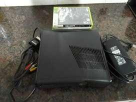 Vendo xbox 360 sin mando+juegos+pendrive16gb