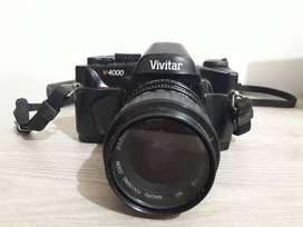 Cámara Vivitar V4000 análoga zoom 52 mm