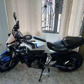 Yamaha MT 07 alto cilindraje