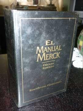 EL MANUAL MERCK DE DIAGNOSTICO Y TRATAMIENTO . DECIMA EDICION 1999 . DEL CENTENARIO