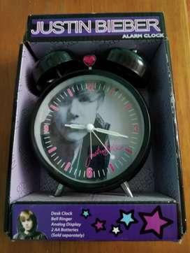Reloj despertador Justin Bieber original