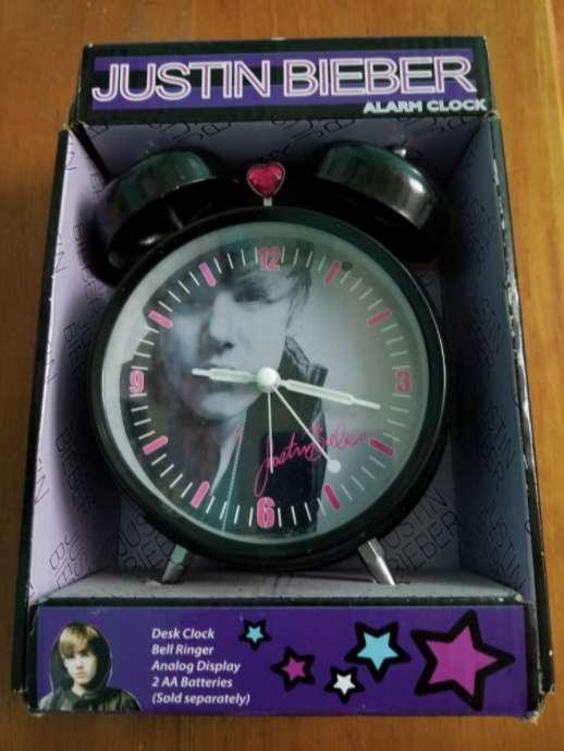 Reloj despertador Justin Bieber original 0