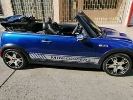 Hermoso mini cooper s turbo convertible