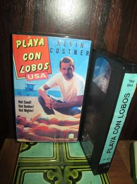 Playa Con Lobos (Sizzle Beach, U.S.A.) - 1981 VHS ARG - Kevin Costner