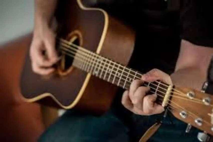 Clases de guitarra online y domicilio