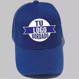 Gorras publicitarias bordadas con tu logo