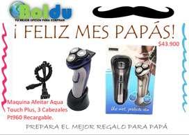 Maquina de Afeitar Aqua touch, PT960 recargable