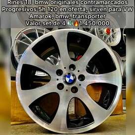 RINES 18 BMW ORIGINALES PROGRESIVOS CONTRAMARCADOS 5H 120