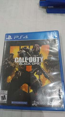 Venta No Cambios Call Of Duty 4 de Ps4