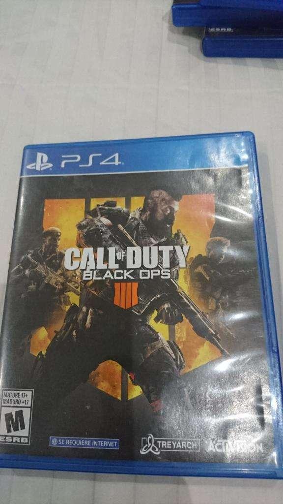 Venta No Cambios Call Of Duty 4 de Ps4 0
