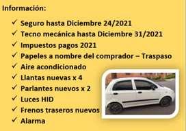 Hermoso Chevrolet Spark 2012,  papeles al día