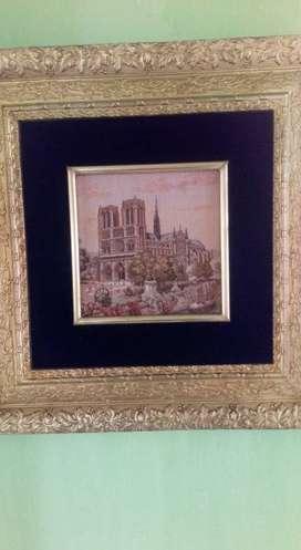 Cuadro Tapiz Francés Notre Dame