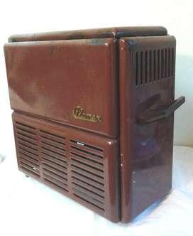 antigua estufa calentador flamex a kerosene vintage