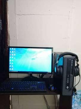 COMPUTADOR SEMI GAMERS INTEL CORE I5 DE 4TA GENERACION CON 10 GB EN RAM, TARJETA DE VIDEO DE 2 GB DDR5, MONITOR CON HDMI