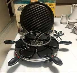 Raclette x 6 puestos