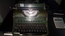 Máquina de escribir 1947