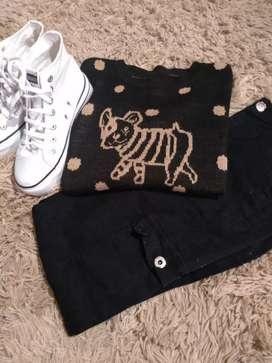 Sweater de perrito Talle L