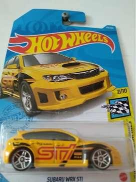 Carro Colección Hot Wheels Subaru Wrx Sti Mattel