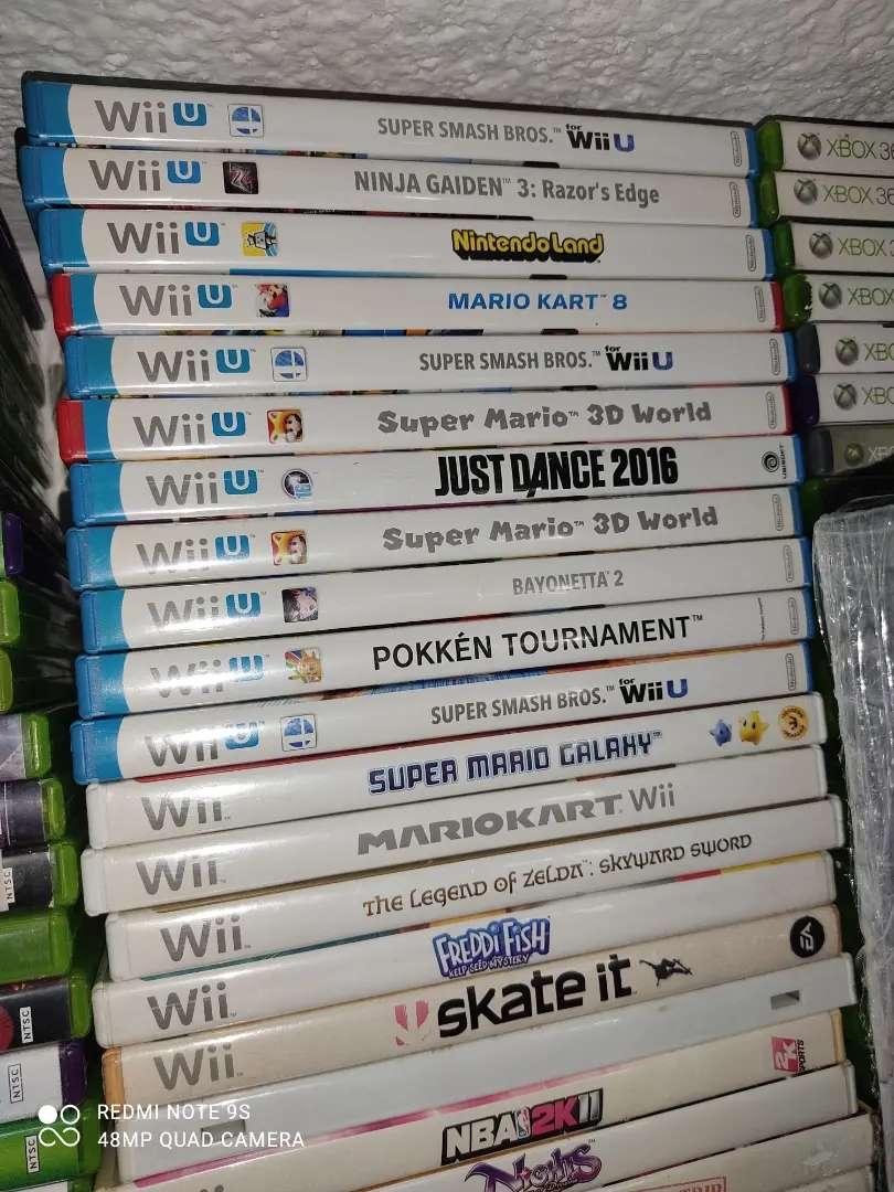 Videojuegos Nintendo Wii y Wii U Originales