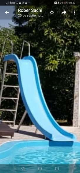 Rodadero para piscina